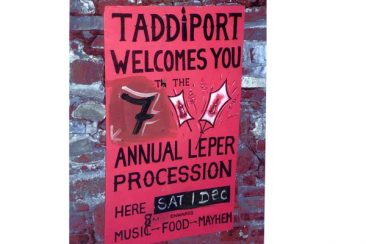 The Taddiport Leper Festival, Devon